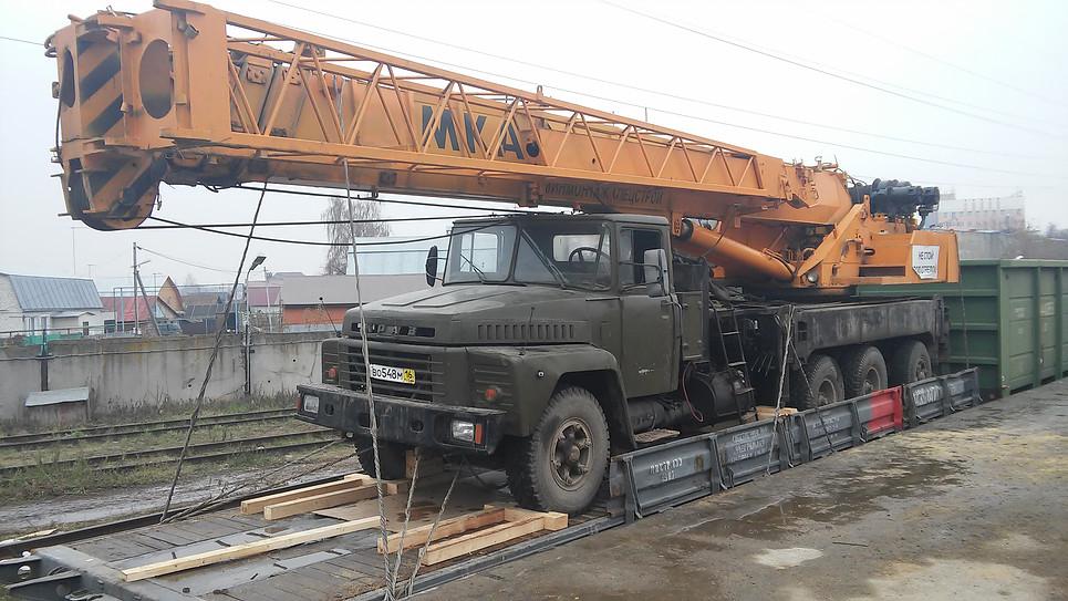 Транспортировка Автокран Ивановец