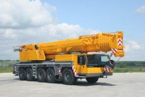 Автокран Liebherr 200 тонн