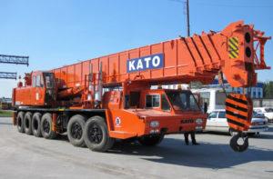 Автокран Kato 70 тонн