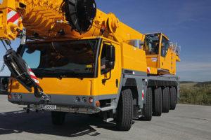 Автокран Liebherr 100 тонн