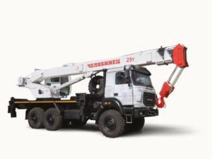 Автокран челябинец 25 тонн КС 45721-21