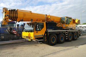 Автокран Liebherr 70 тонн