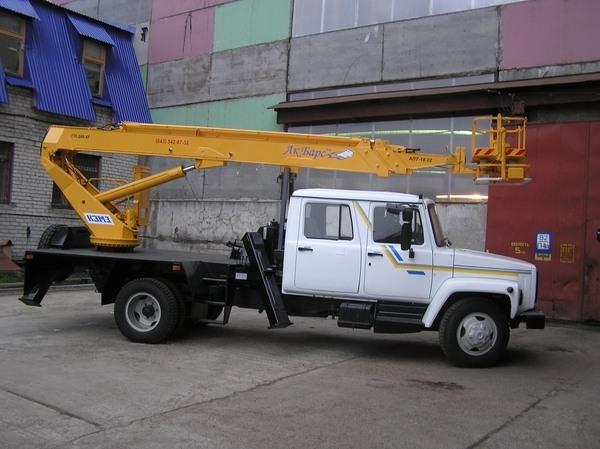 АГП АПТ-18 на базе ГАЗ-3307