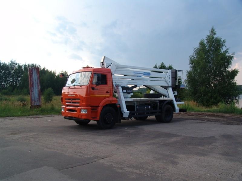 АГП-29РТ - КАМАЗ-43118