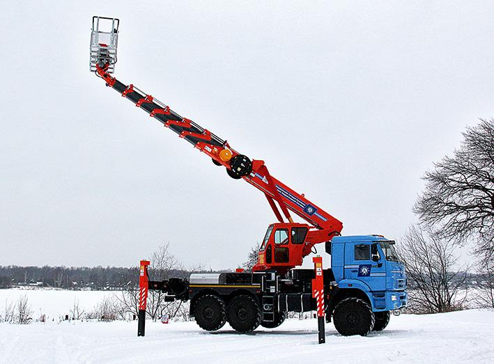 АГП-40Т НА ШАССИ КАМАЗ-43118