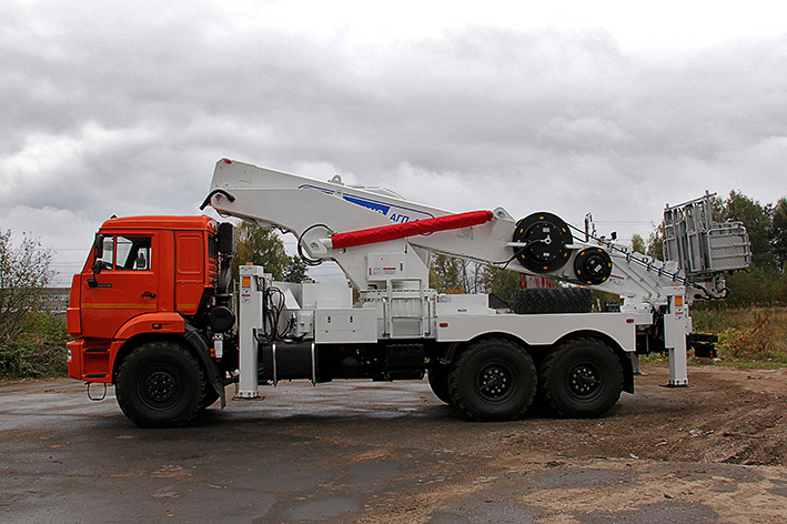 АГП-45Т НА ШАССИ КАМАЗ-43118