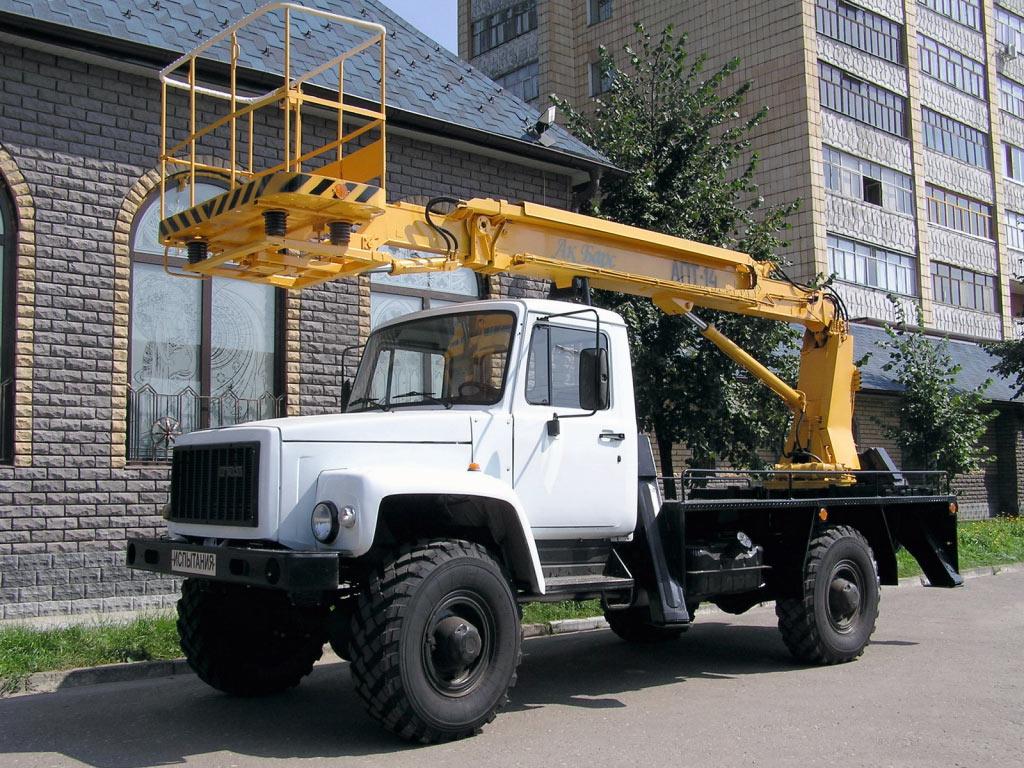 Автовышка Газ-3308