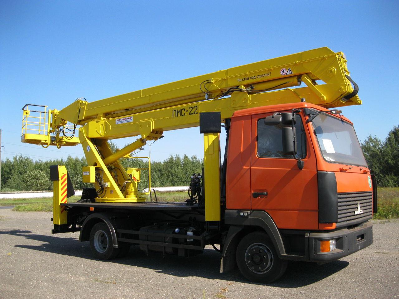 МАЗ-437137 пмс 22