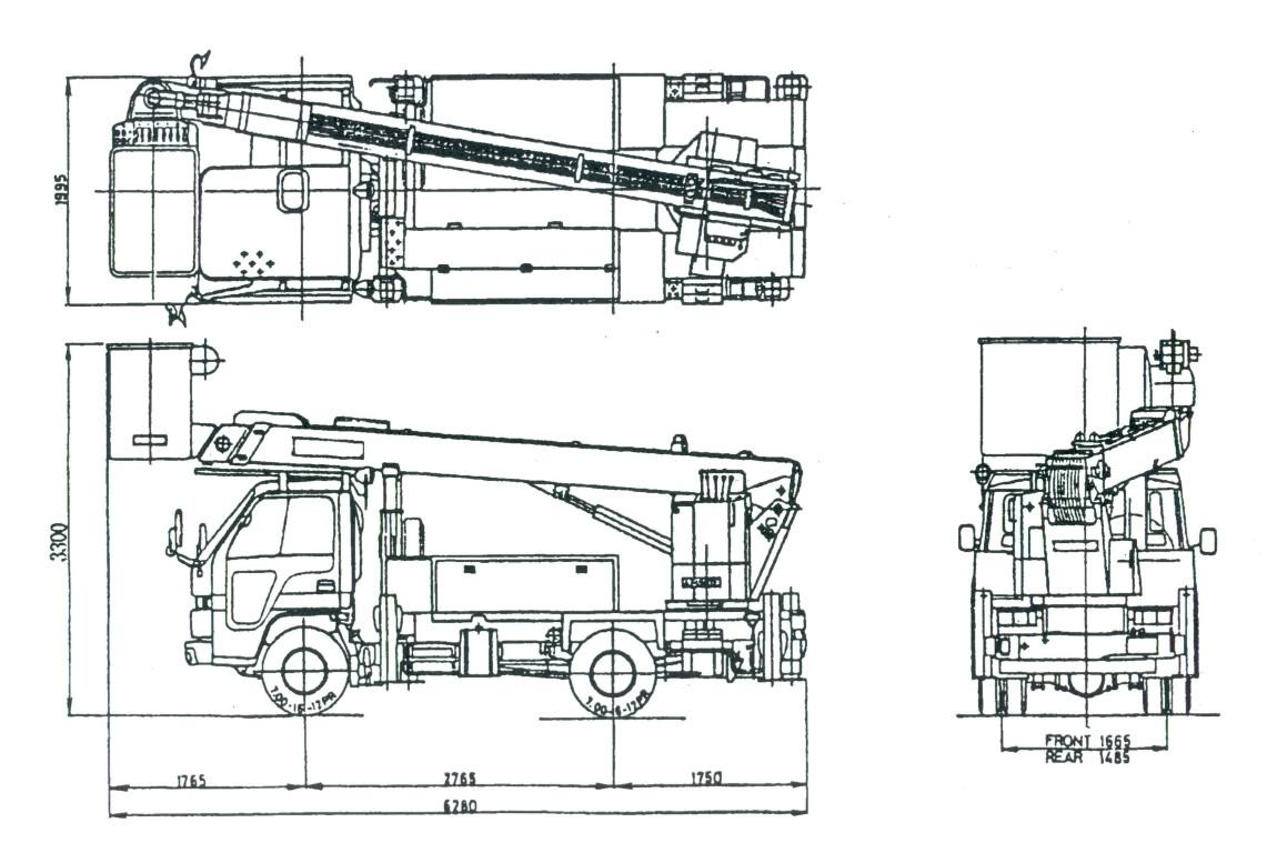 Телескопическая автовышка