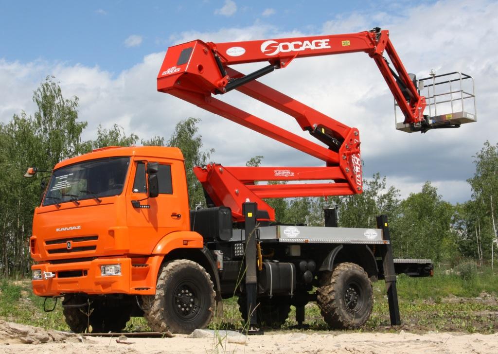 SOCAGE DAJ-332 - КАМАЗ-43118