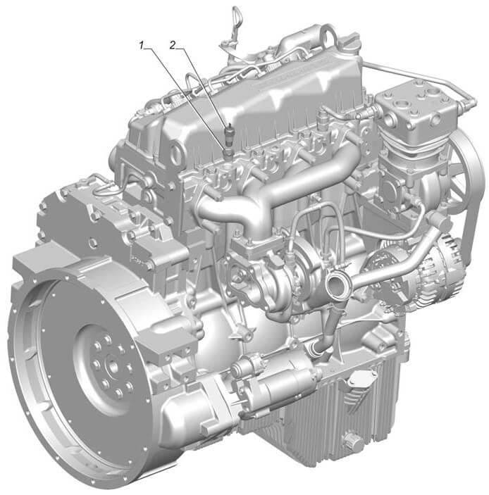 ГАЗ-33106 «Валдай» двигатель