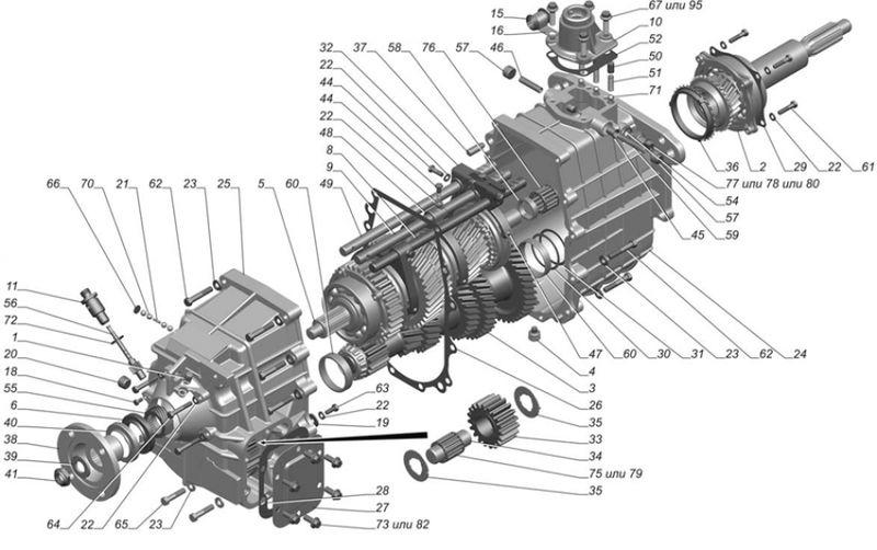 ГАЗ-33106 коробка передач