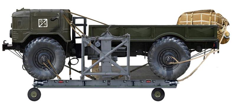 ГАЗ 66Б на десантной платформе.