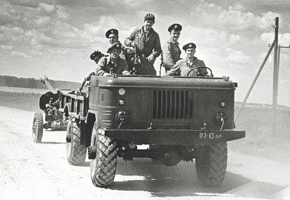 ГАЗ 66 ВДВ