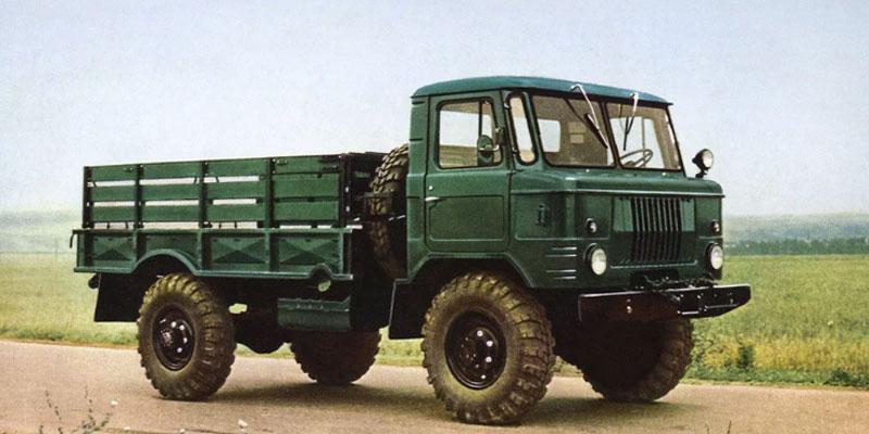 ГАЗ-66 история создания