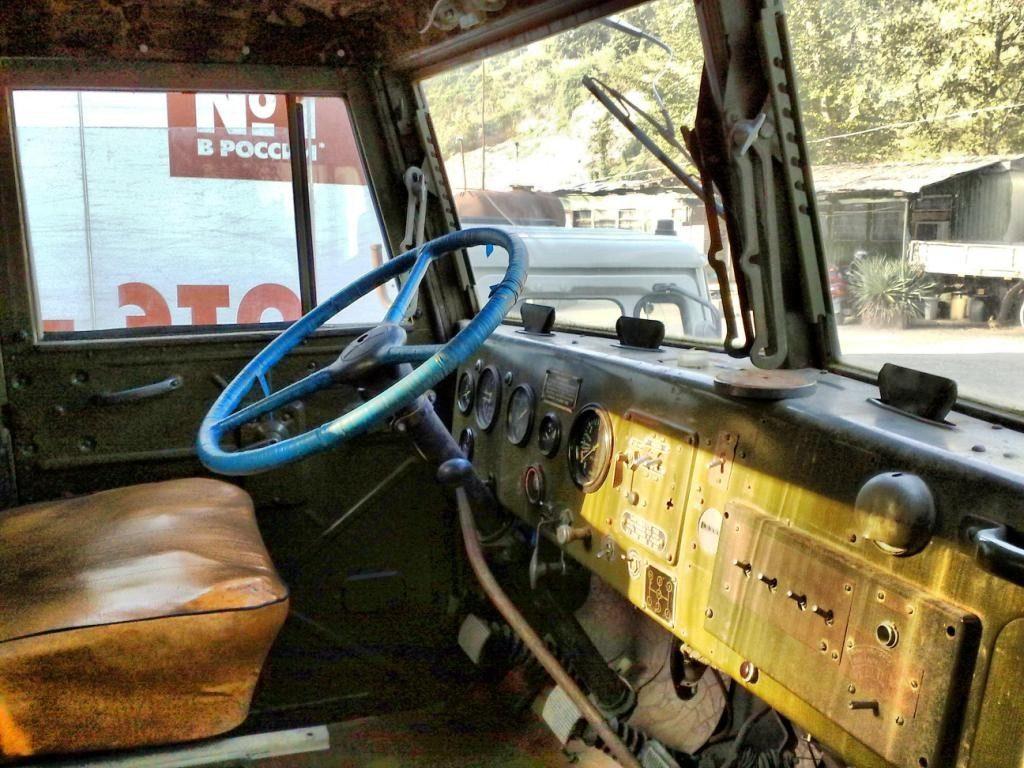 КрАЗ-250 кабина