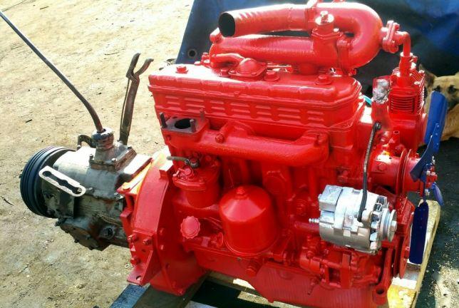 МТЗ 80 двигатель