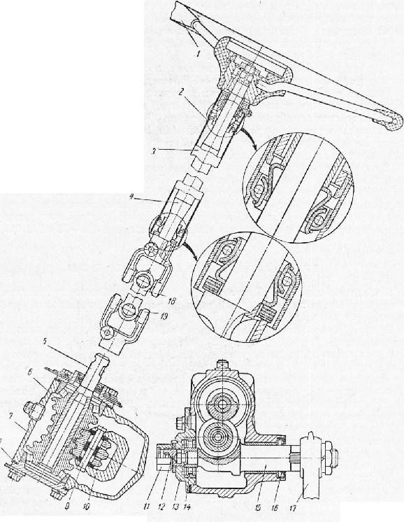 Рулевое управление ГАЗ-66