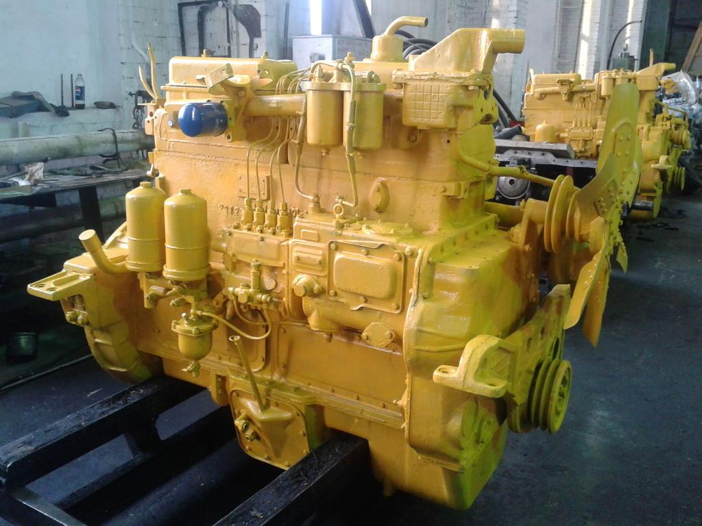 Бульдозер Т-170 двигатель