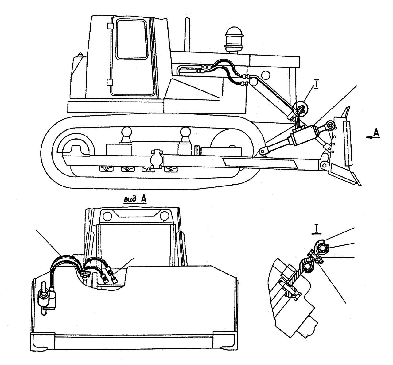 Гидравлика т-170