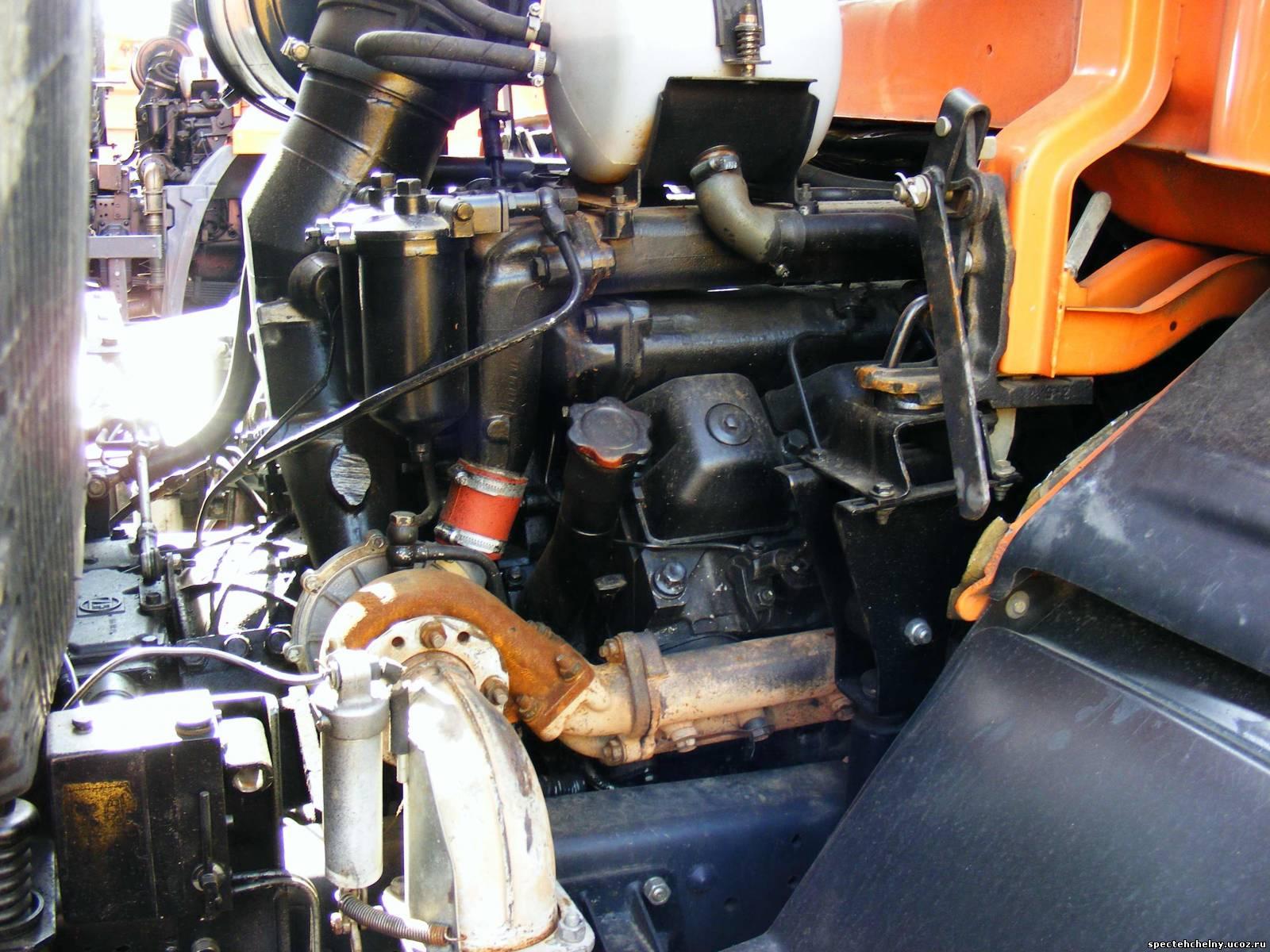 Камаз 6520 двигатель