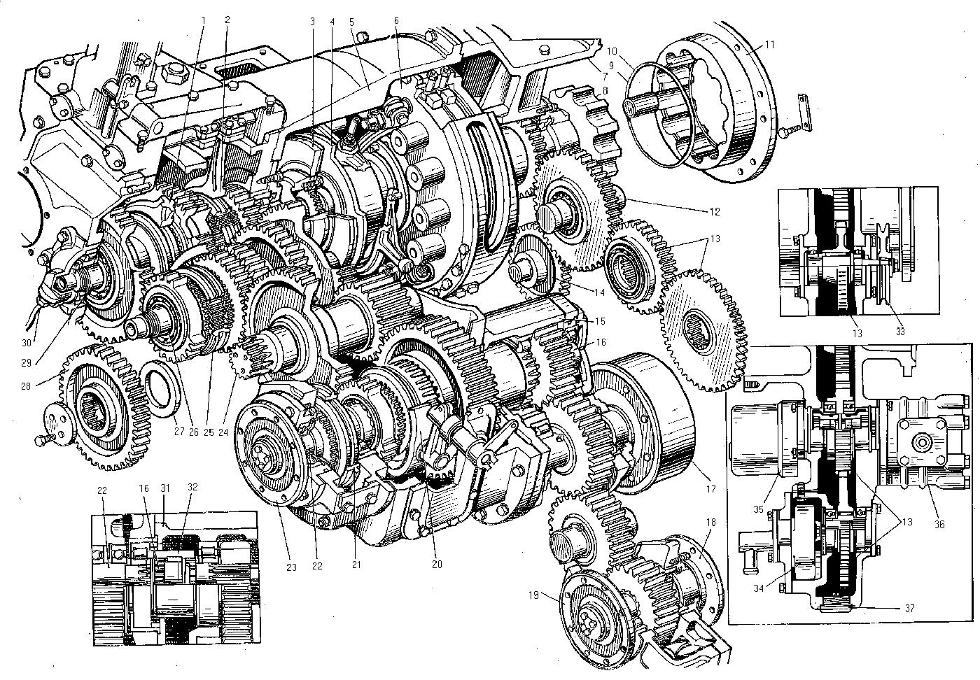 Коробка передач ДЗ-98