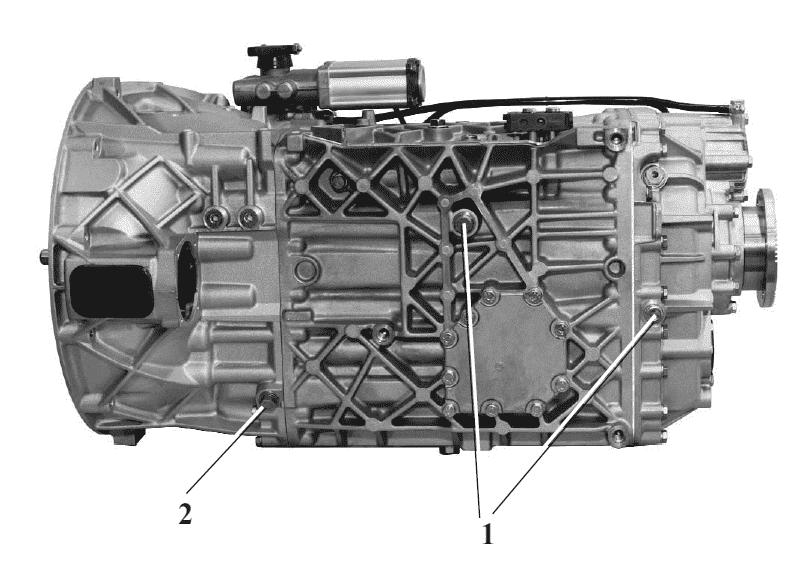 Коробка передач камаз 6520