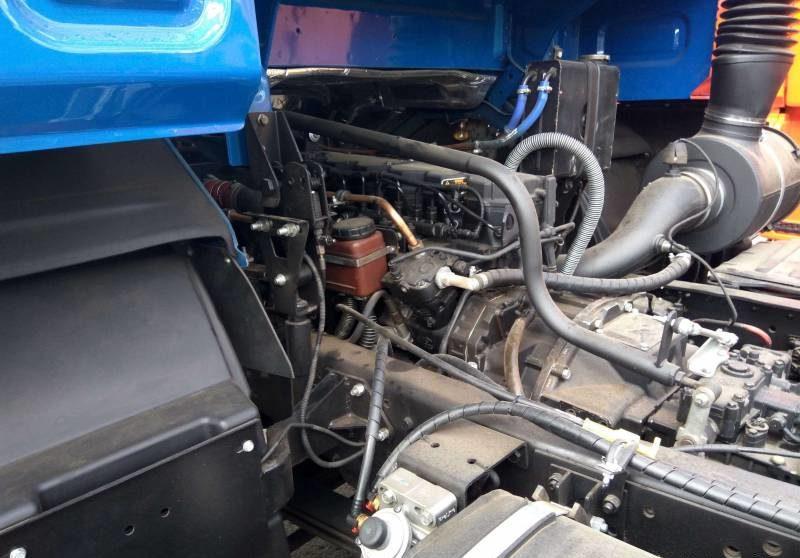 Бортовой КамАЗ 65117 двигатель
