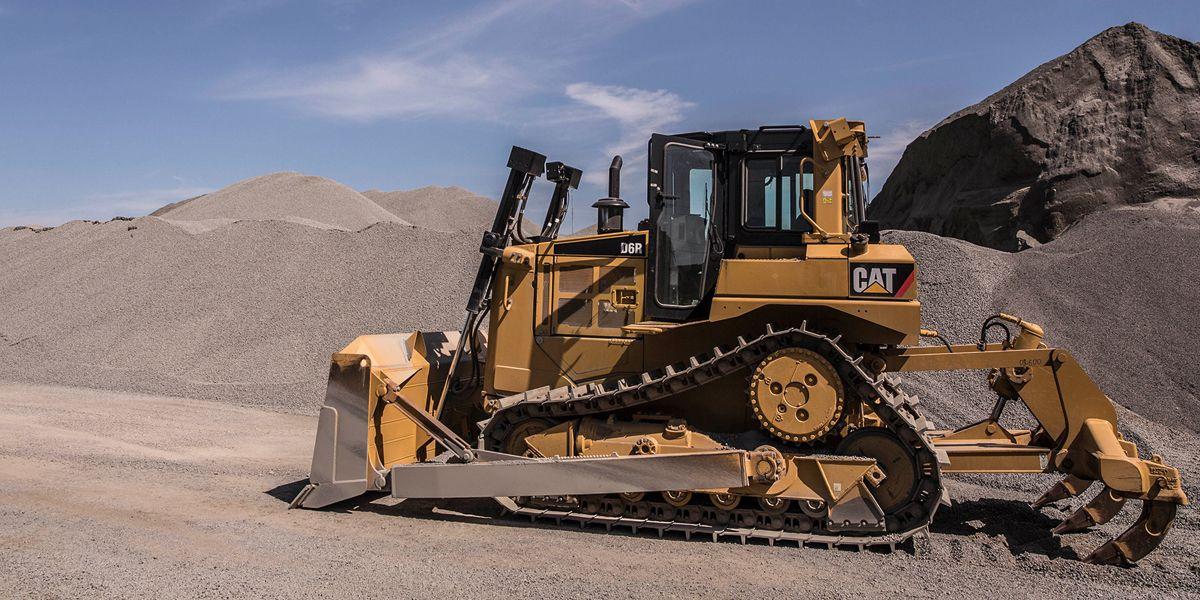 Бульдозер Caterpillar D6 оборудование