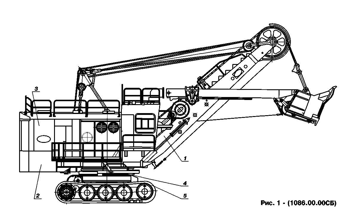 Конструкция ЭКГ 5А