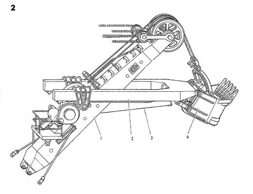 экскаватор ЭКГ 5а устройство стрелы