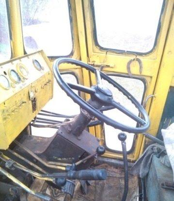 Автогрейдер ДЗ 180 кабина