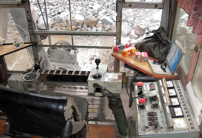 ЭКГ-10 кабина