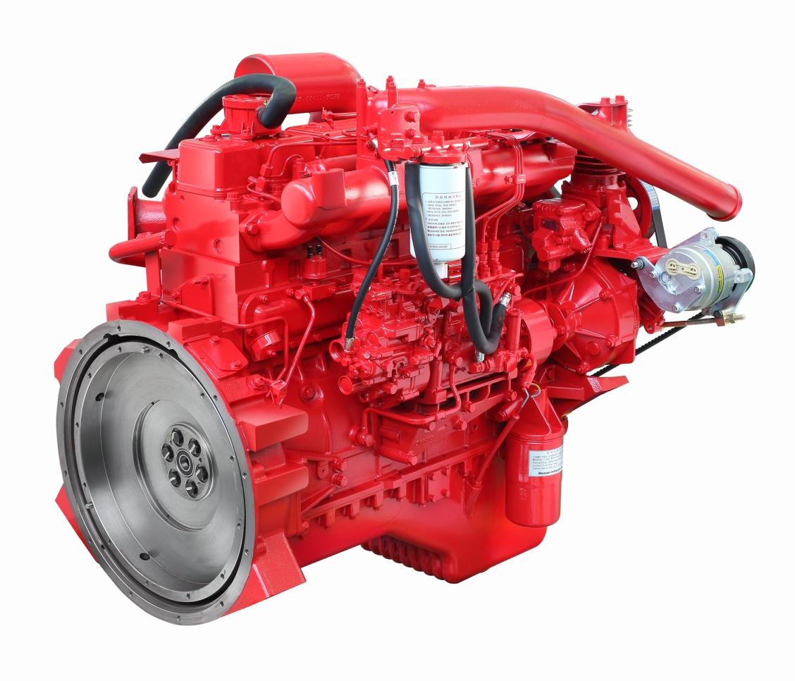 DE08TIS двигатель