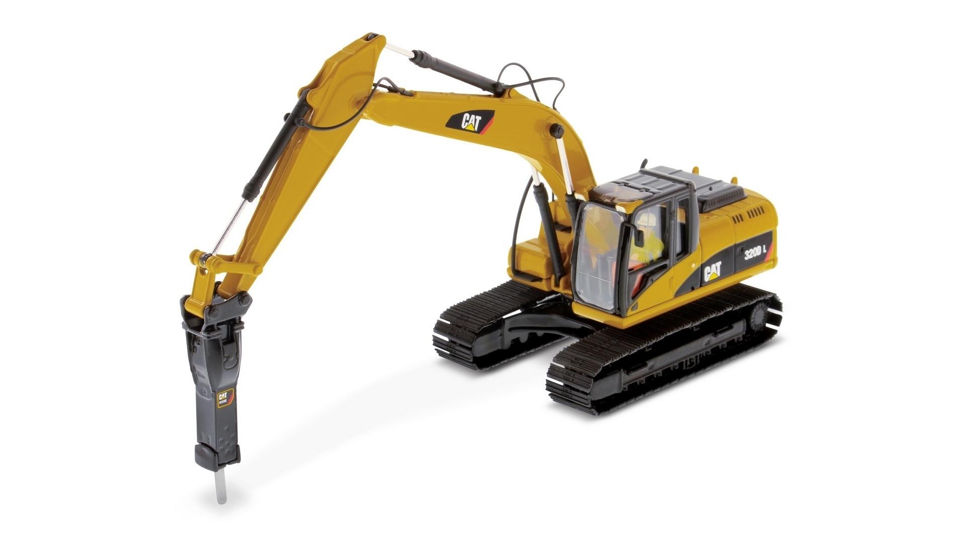 Экскаватор Caterpillar 320 оборудование