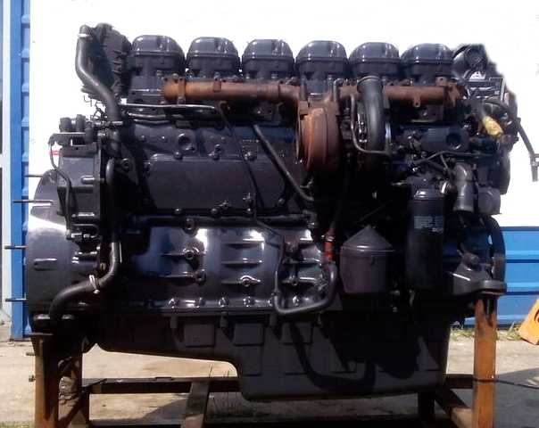 Scania P380 двигатель