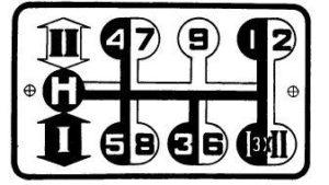 МТЗ-82 схема переключения