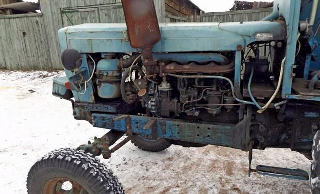 Трактор Владимирец Т-28 двигатель