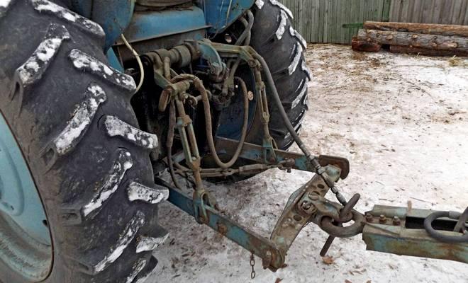 Трактор Владимирец Т-28 навесное