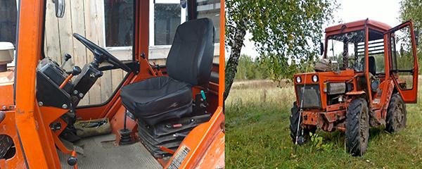 Трактор Кировец К-20 кабина