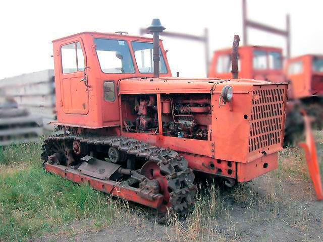 Трактор Т-4 Алтаец