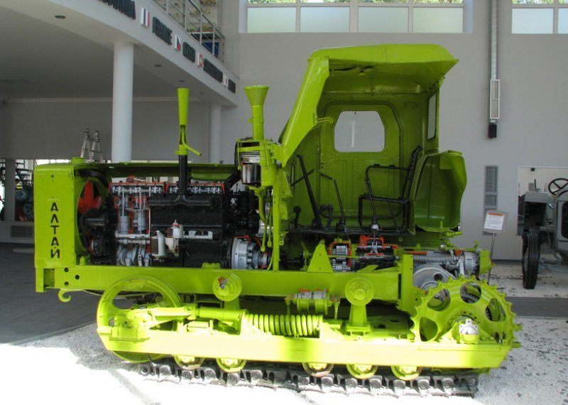 Т-4 Алтаец ходовая часть