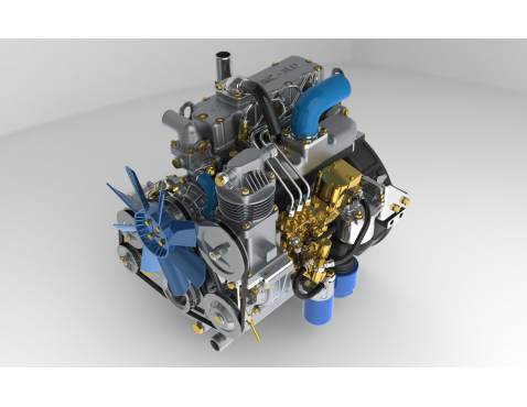 Беларус МТЗ-311 Двигатель