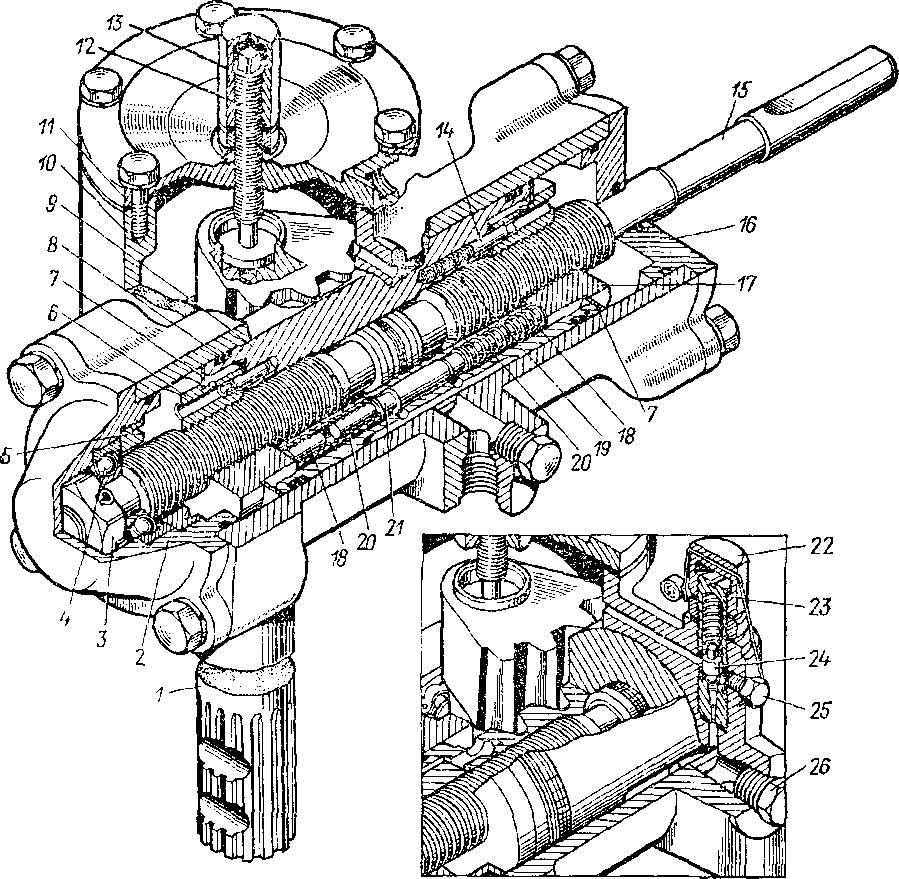 Гидроусилитель Т-40