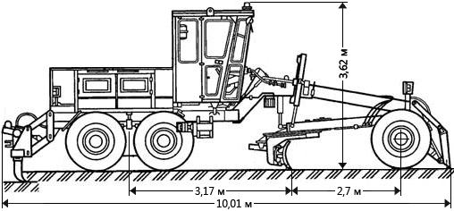 ДЗ-122 габаритные размеры