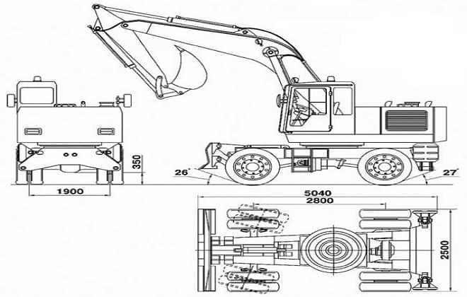 Размеры ЭО-33211