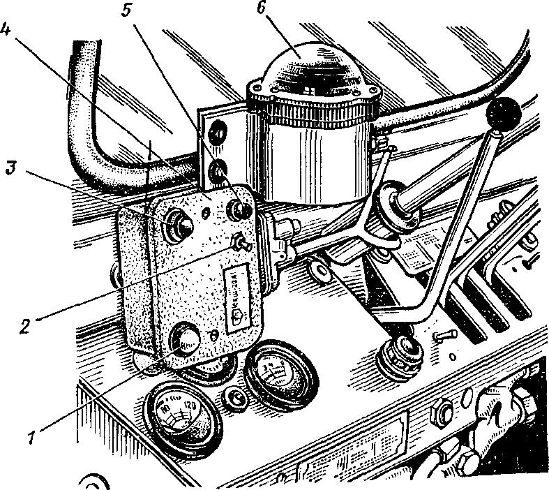 Сигнализатор крена Т-40