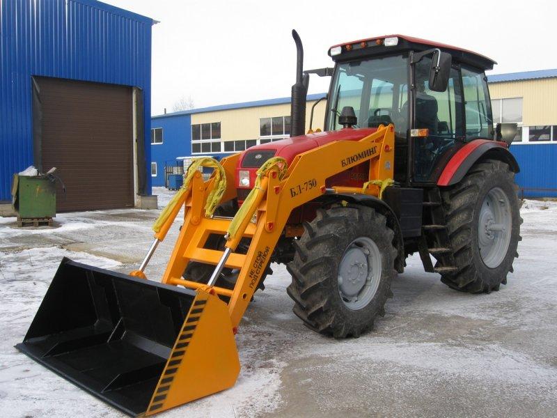 Трактор МТЗ-1523 навесное оборудование