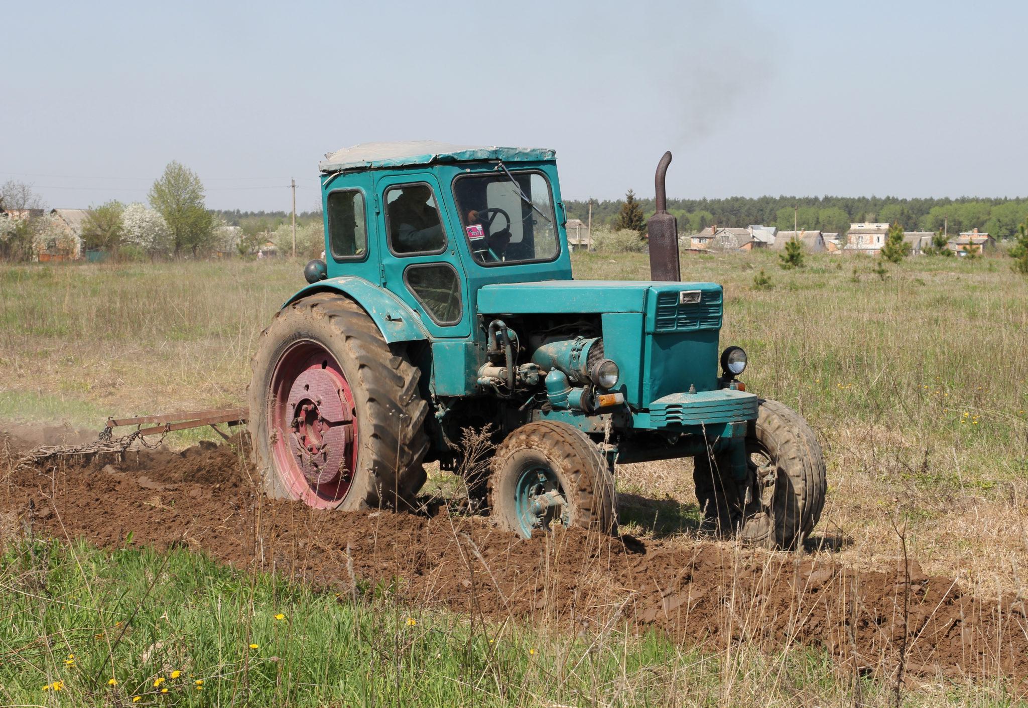 Т-40 в поле