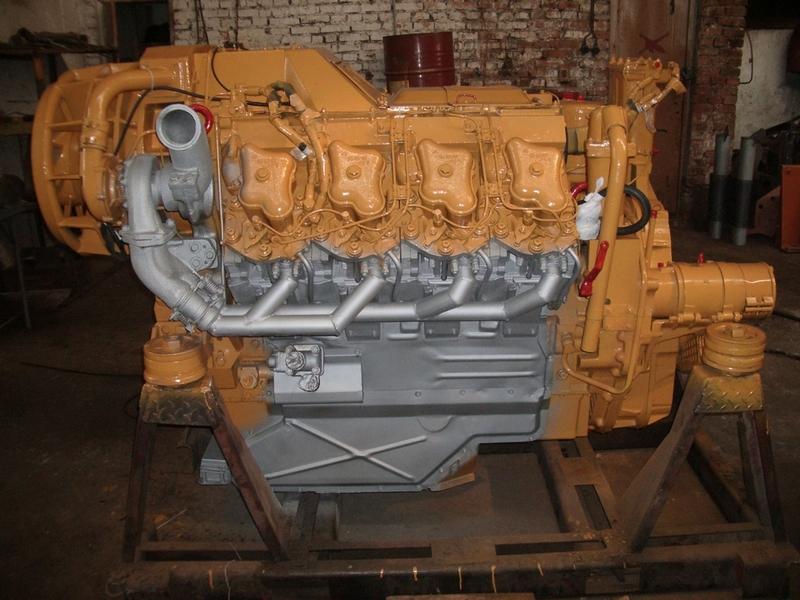 ЧЗПТ Т-330 двигатель